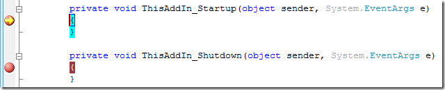 StartupBreakpoint