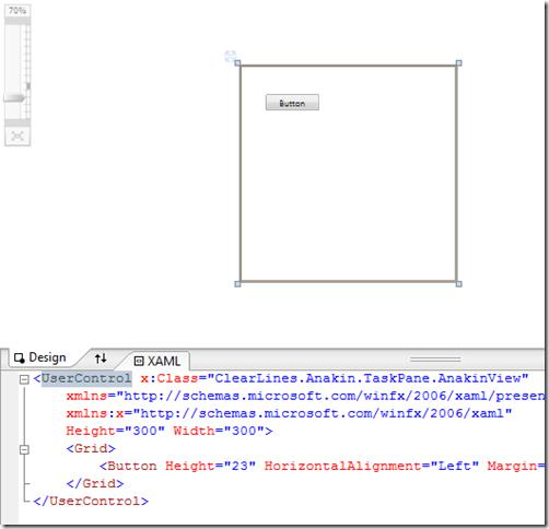 Create an Excel 2007 VSTO add-in: adding a WPF control ·