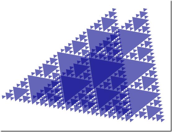Sierpinski-superposition
