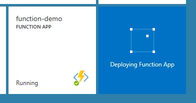 Deploying Function App