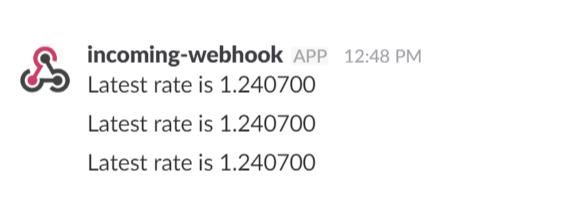 Regular Messages on Slack